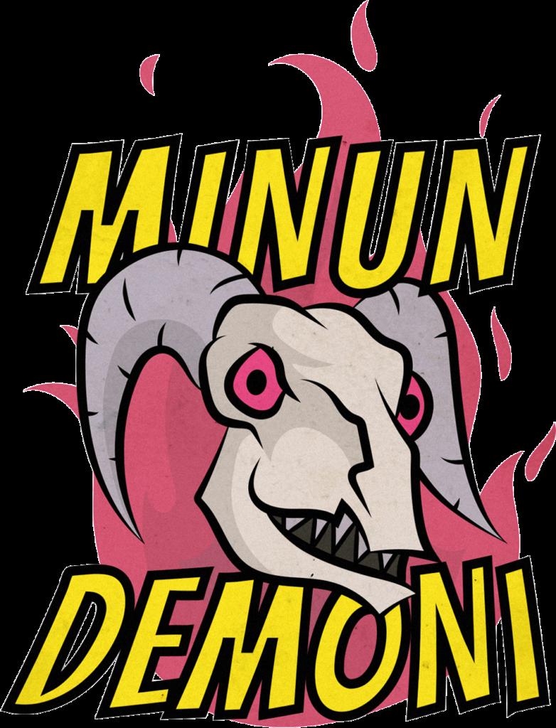 Minun Demoni -logo